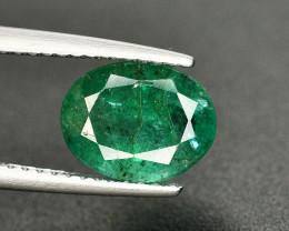 1.90 Ct Brilliant Color Natural Zambian Emerald