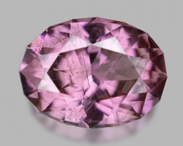 Custom precision cut, exquisite natural Mahenge spinel.