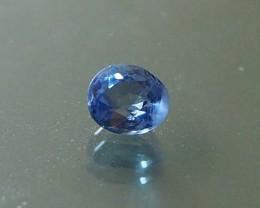 1.13ct unheated blue sapphire