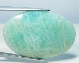 22.50 ct Natural Amazonite Oval Cabochon  Gemstone