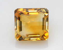Natural Citrine 6.82 Cts Faceted Gemstone