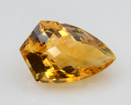 Natural Citrine 17.31 Cts Faceted Gemstone