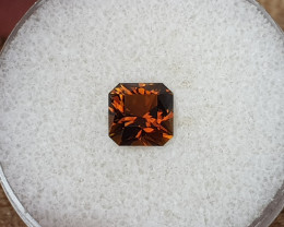 1,94ct Cognac coloured Dravite Tourmaline - Master cut!