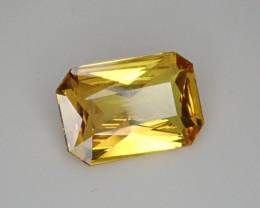 2.21ct Vivid Yellow Sapphire