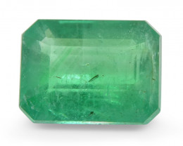 1.59 ct Emerald Cut Emerald