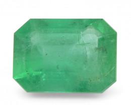 1.34 ct Emerald Cut Emerald