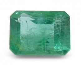 1.45 ct Emerald Cut Emerald