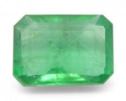 1.18 ct Emerald Cut Emerald