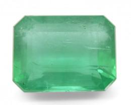 1.73 ct Emerald Cut Emerald