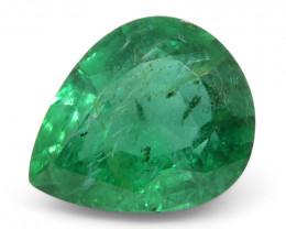 2.73 ct Pear Shape Emerald