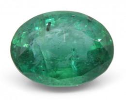 7.86 ct Oval Emerald Rose Cut