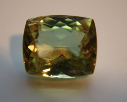 Green Yellow Kunzite 14.10ct