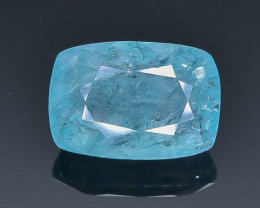 3.86 Crt Natural Grandidierite Faceted Gemstone.( AB 59)