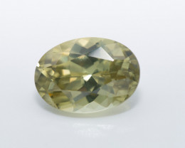 3.58 CTS. ZIRCON BRILLIANT GREEN
