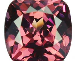 1.92 Natural Pinkish Red Rhodolite Garnet Cushion Cut Mozambique