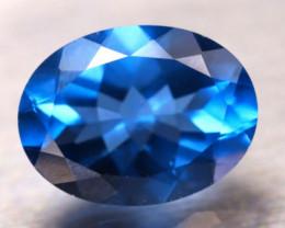 Fluorite 10.39Ct Natural IF Vivid Bule Color Change Fluorite E0927/A49
