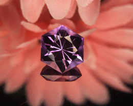 Master Cut Amethyst Gemstone Fancy Cut by Master Cutter