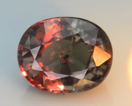 Rarest Blueish Garnet 1.45 ct Dramatic Full Color Change SKU-36