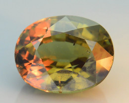 Rarest Garnet 1.35 ct Dramatic Full Color Change SKU-36