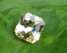 CERTIFIED TOP 1.21 CTS NATURAL STUNNING OCTAGON MIX YELLOW SAPPHIRE SRI LAN