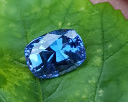 NO TREAT 1.50 CTS CERTIFIED NATURAL STUNNING BLUE SPINEL FROM SRI LANKA