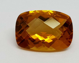 6.25Crt Madeira Citrine Natural Gemstones JI11