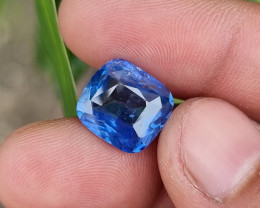 8.01 CTS NATURAL STUNNING CUSHION MIX CORNFLOWER BLUE SAPPHIRE SRI LANKA