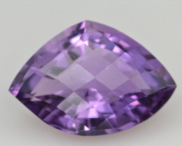 Natural Amethyst 11.61  Cts Top Clean Gemstone