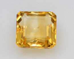 Natural Citrine 6.04 Cts Faceted Gemstone