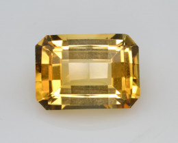 Natural Citrine 7.29 Cts Faceted Gemstone