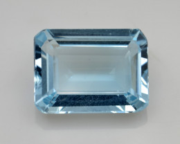 Natural Sky Blue Topaz 12.50 Cts Good Luster