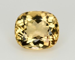 5.60 CT NATURAL HELIODOR YELLOW BERYL LOOSE GEMSTONE