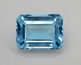 Natural Sky Blue Topaz 15.55 Cts Good Luster
