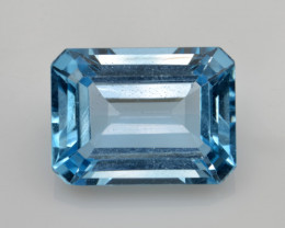 Natural Sky Blue Topaz 14.15 Cts Good Luster