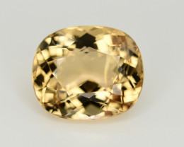 4.95 CT NATURAL HELIODOR YELLOW BERYL LOOSE GEMSTONE