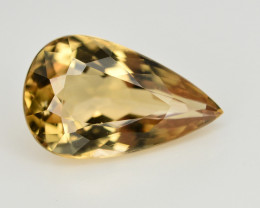 4.55 CT NATURAL HELIODOR YELLOW BERYL LOOSE GEMSTONE