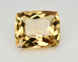 4.65 CT NATURAL HELIODOR YELLOW BERYL LOOSE GEMSTONE