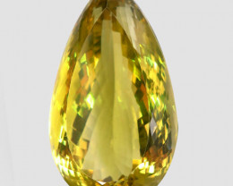 84.72 ct. 100% Natural Top Yellow Lemon Quartz Brazil - IGE Сertified