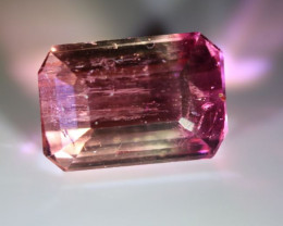 Bi Color Tourmaline 2.35ct