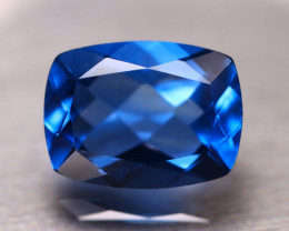 Fluorite 12.84Ct Natural IF Vivid Bule Color Change Fluorite D1011/A49