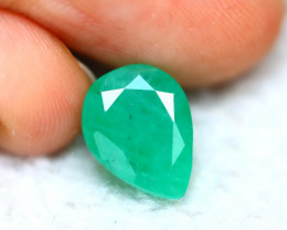 Emerald 3.45Ct Natural Colombia Green Emerald D1022/A37
