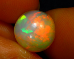 Welo Opal 2.07Ct Natural Ethiopian Play of Color Opal D1037/A3