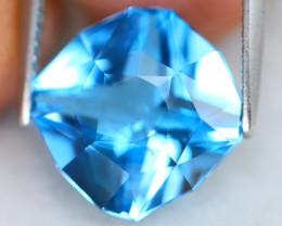 Swiss Topaz 5.52Ct VS Precision Cut Natural Swiss Blue Topaz B0702