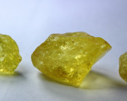 114.80 CT Natural - Unheated Yellow Citrine Rough Lot