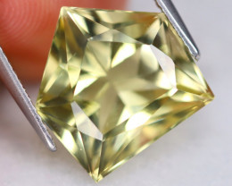 Prasiolite 8.26Ct VVS Designer Cut Natural Brazilian Prasiolite B0723