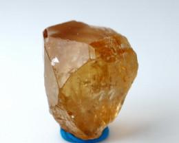 42.00 CT Natural & Unheated Orange Brown Topaz Crystal