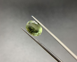 3.91 ct Natural Tourmaline Oval cut loose gemstone Ideal for mounting on je