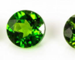 3.00 mm Diopside 1.13 ct Russia GPC Lab