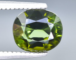 1.92 Crt Natural Tourmaline Faceted Gemstone.( AB 60)