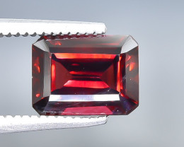 2.24 Crt Natural  Rhodolite Garnet Faceted Gemstone.( AB 60)